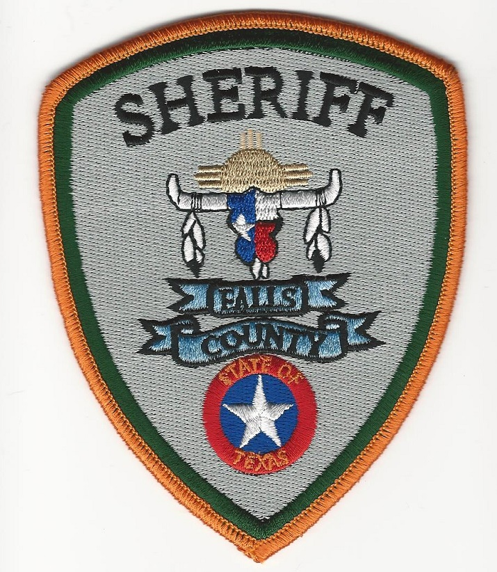 Falls County Sheriff Texas TX patch