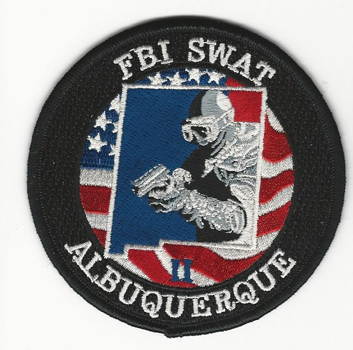 FBI Albuquerque NM SWAT GMAN