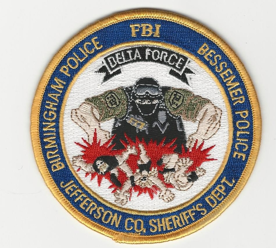 FBI Delta Force AL FULL COLOR
