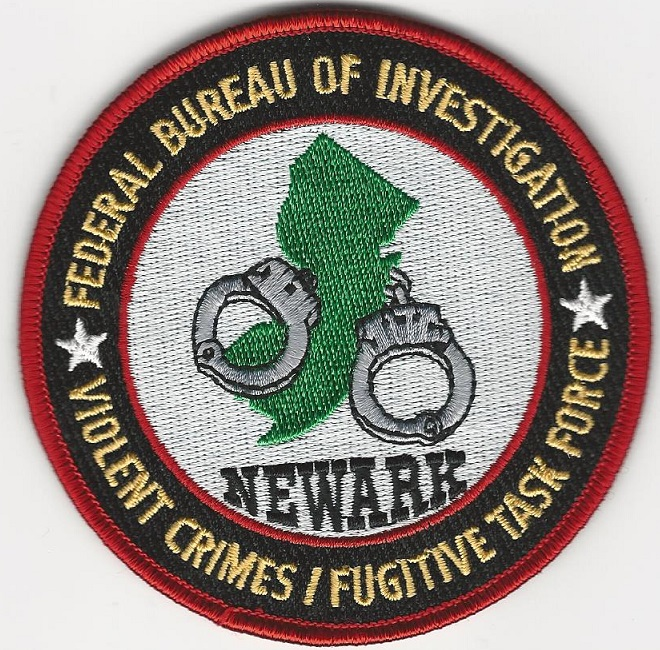FBI Violent Crimes Fugitive Task Force Newark New Jersey