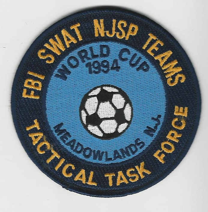 FBI SWAT NJ State Police World Cup 1994
