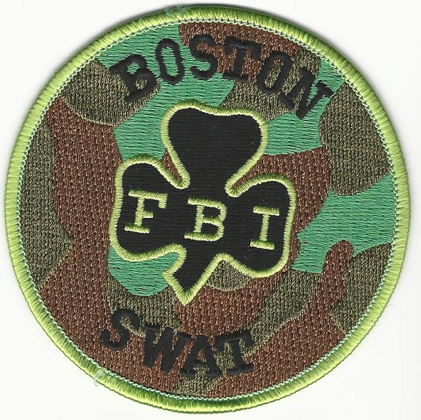 FBI Boston SWAT MASS Shamrock
