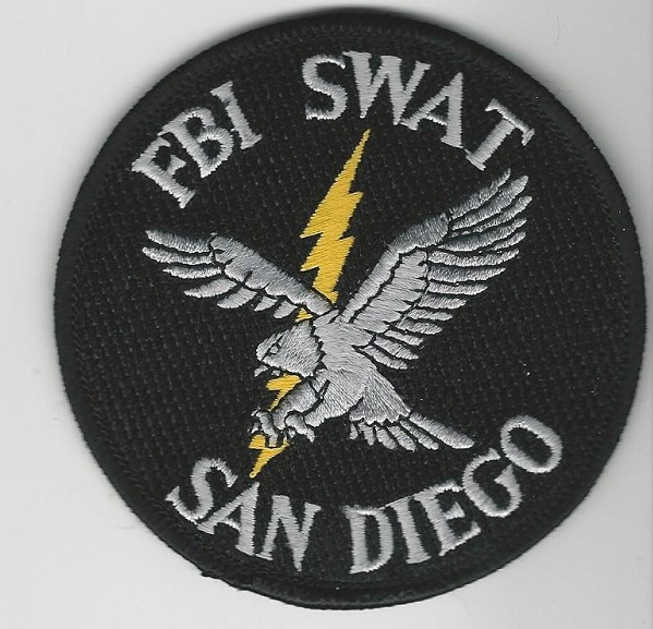 FBI San Diego CA SWAT EAGLE