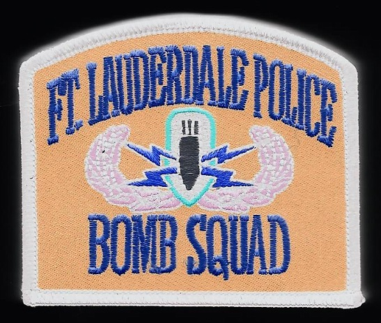 Ft Lauderdale Police Bomb Squad FL