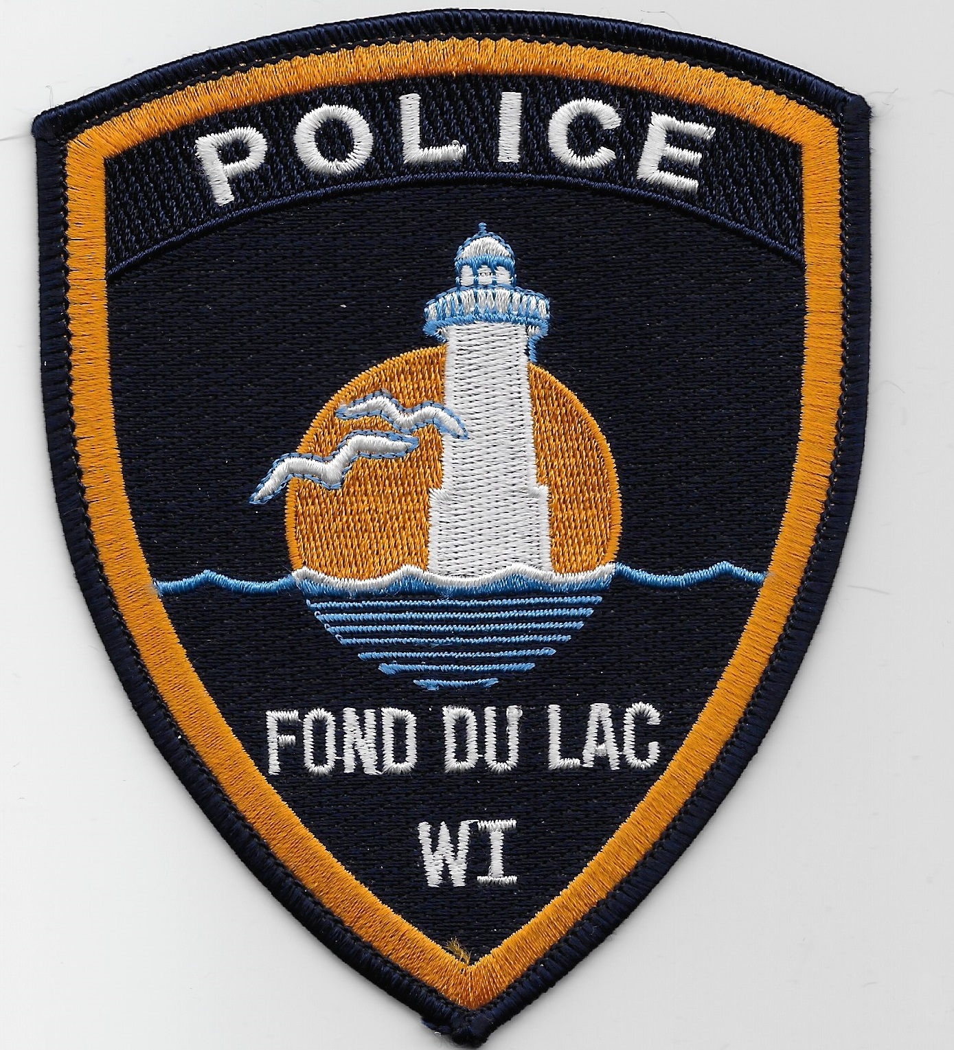 Fond du Lac Police WI lighthouse patch