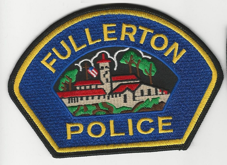 Fullerton Police California Blue