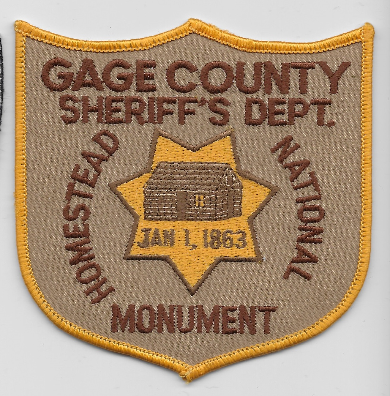 Gage County Sheriff NE
