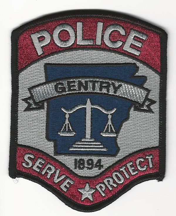 Gentry Police Arkansas