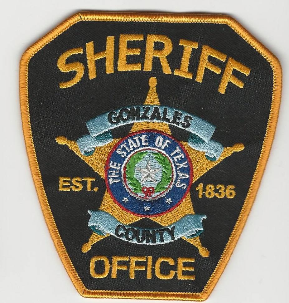Gonzales County Sheriff TX NEW