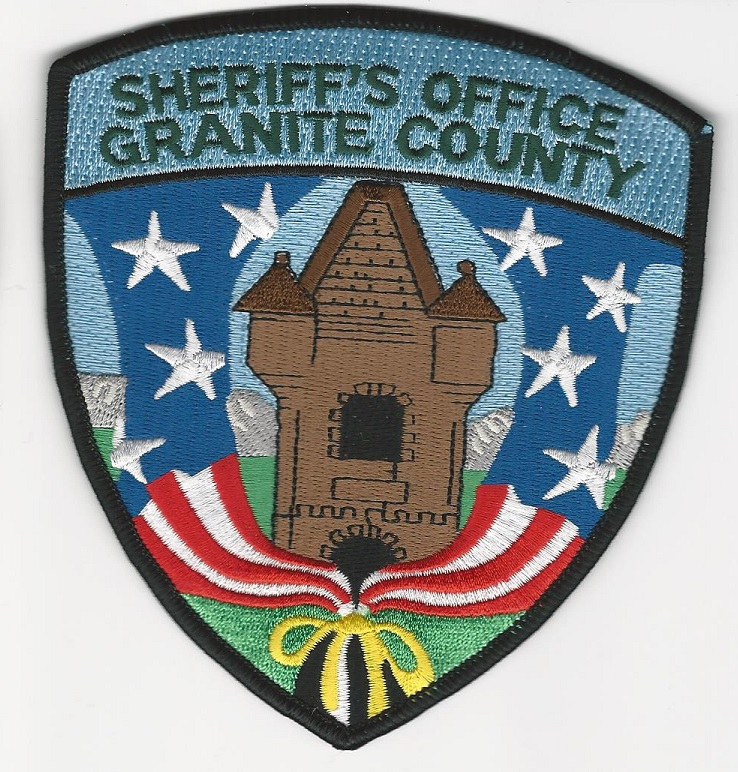 Granite County Sheriff State Montana