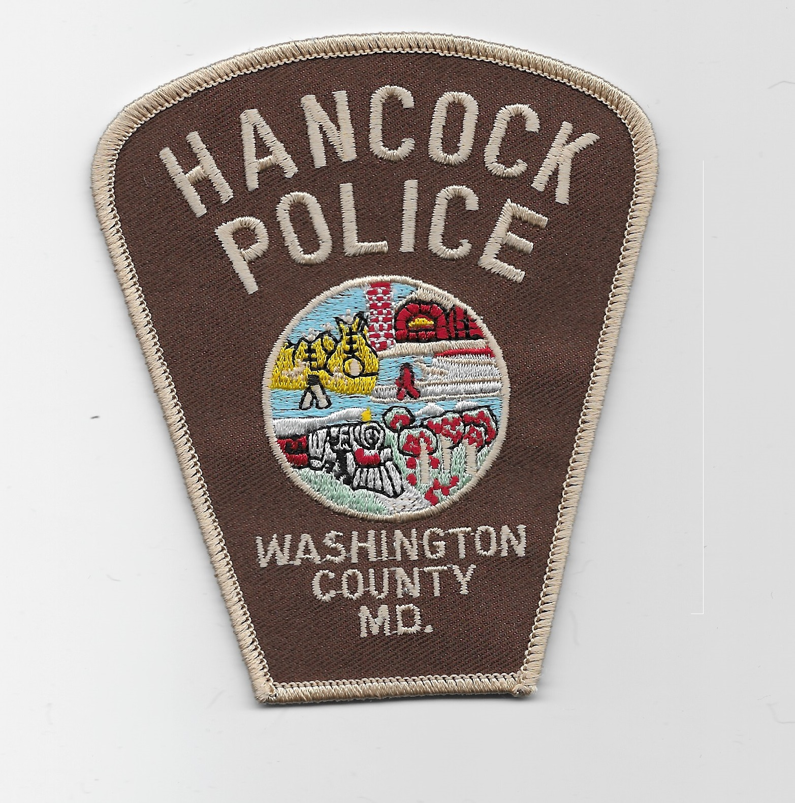 Hancock Police MD Train