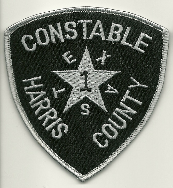 Harris County PCT 1 Constable Subdued patch Texas TX