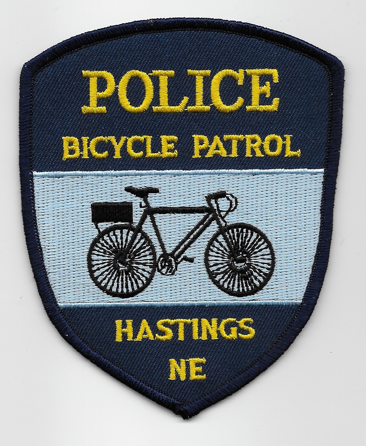 Hastings Police Bike Unit NE