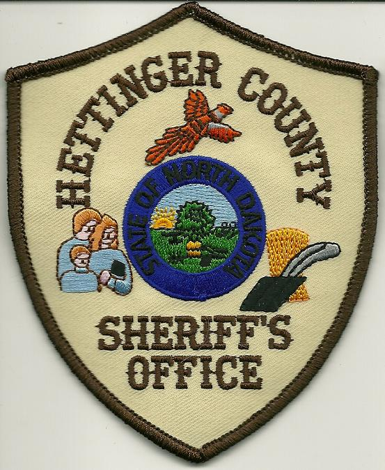 Hettinger County Sheriff patch