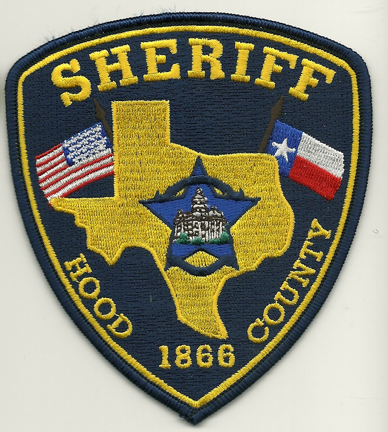 Hood County Sheriff Texas TX NEW
