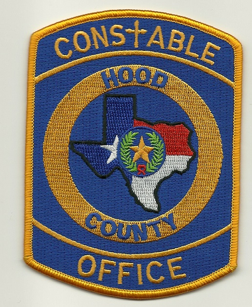 Hood County Constable State Texas (Cross patch)