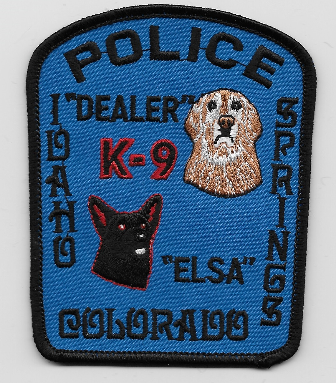 Idaho Spgs Police k9 CO