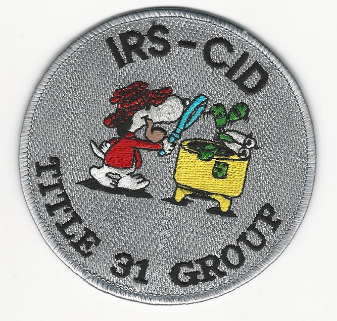 IRS CID Criminal Invs Snoopy