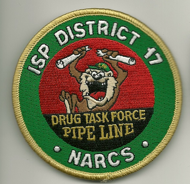 Illinois State Police Narcotics Drug Task Force