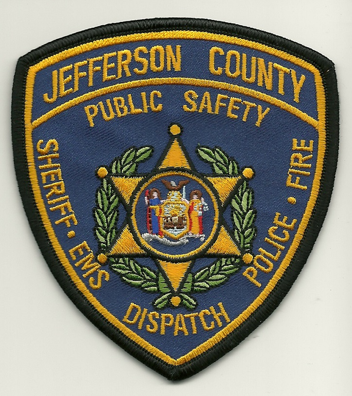 Jefferson County Sheriff Public Safety Patch New York