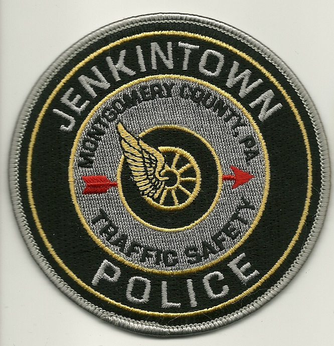 Jenkintown Police Motors State Pennsylvania patch