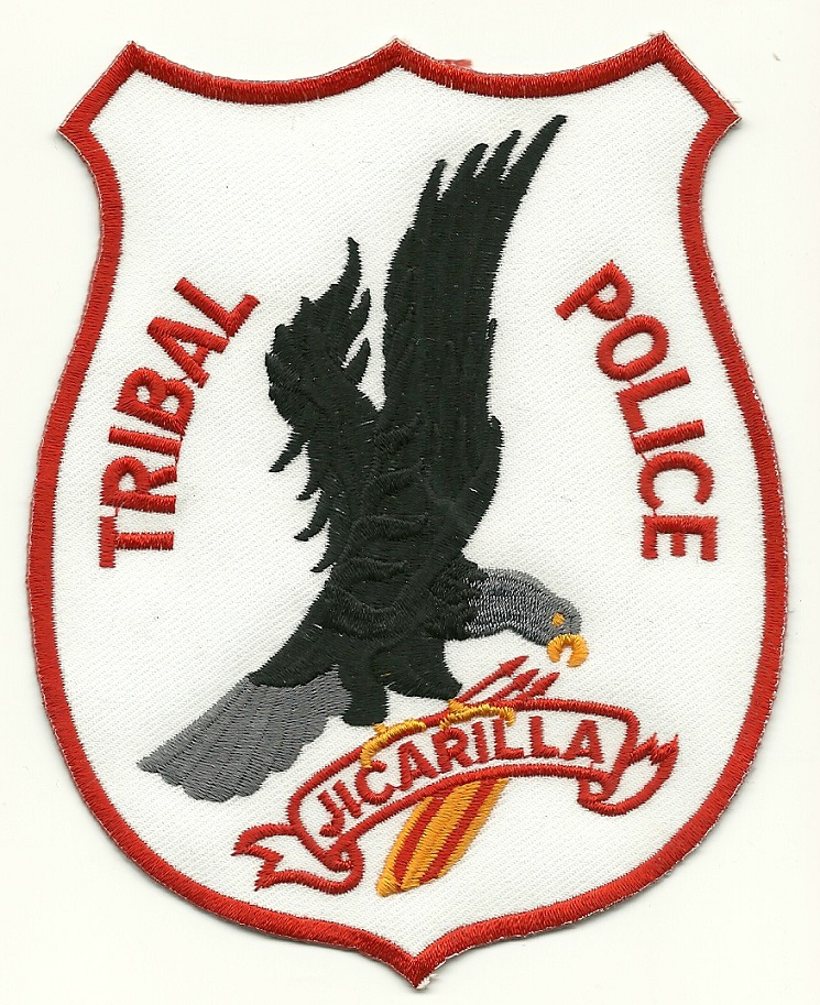 Jicarilla Tribal POlice Eagle patch Ne Mexico NM