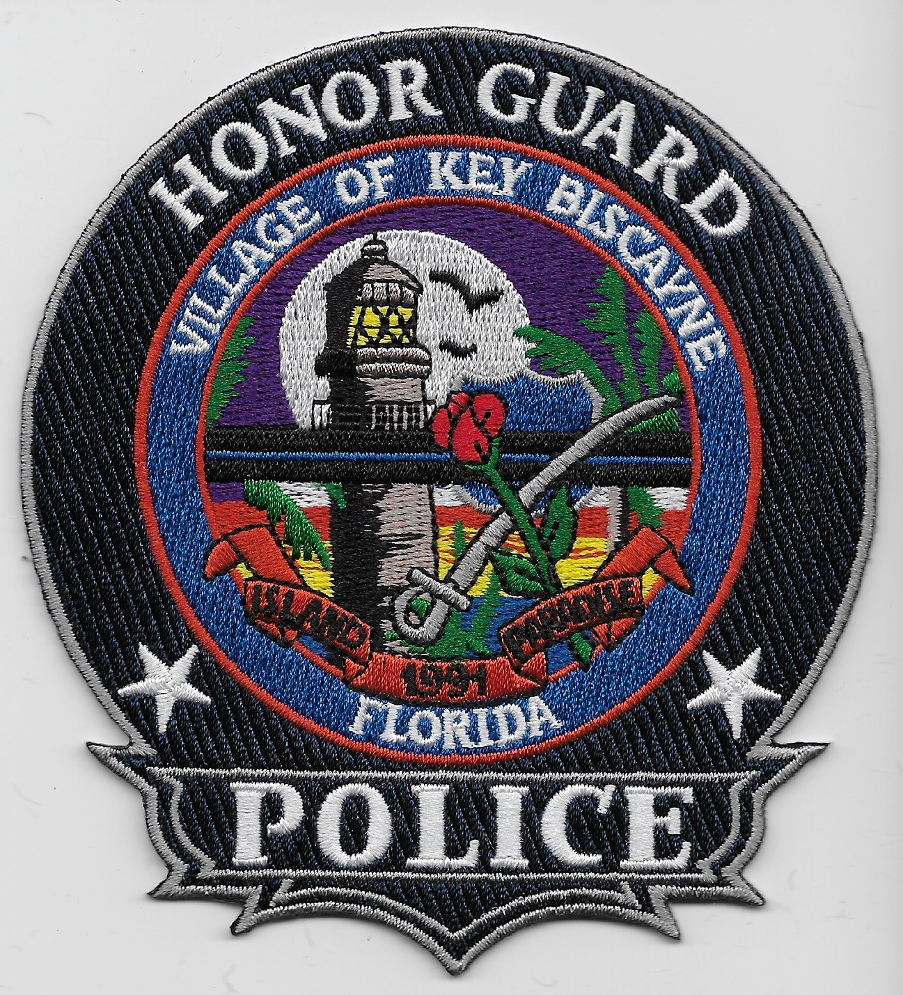 Key Biscayne Police Honor Guard