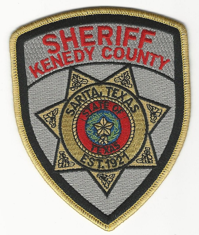 Kennedy County Sheriff patch Texas TX
