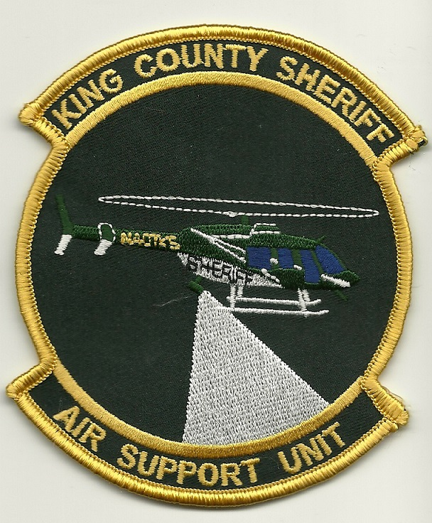 King County Sheriff Aviation State Washington WA