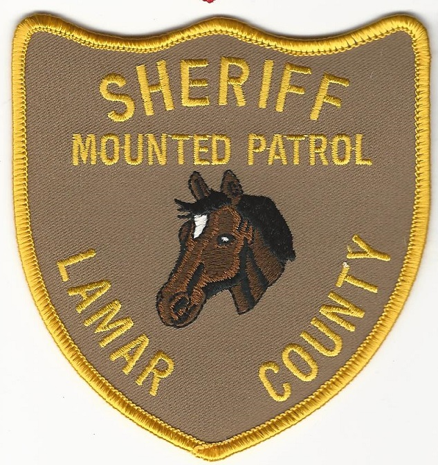 Lamar County Sheriff Texas Mounted