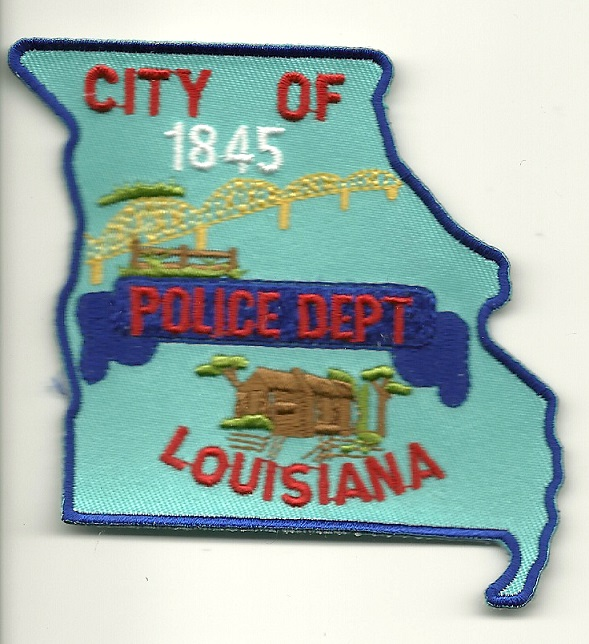 Louisiana POlice Missouri MO patch State Shaped
