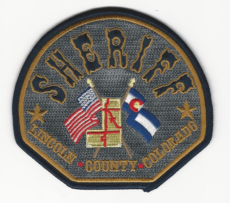 Lincoln County Sheriff Colorado CO NEW