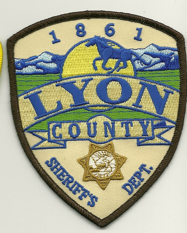 Lyon County Sheriff State Nevada NV NEW patch