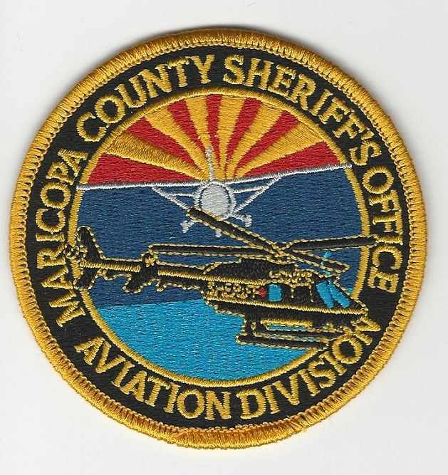 Maricopa County Sheriff Aviation Color AZ