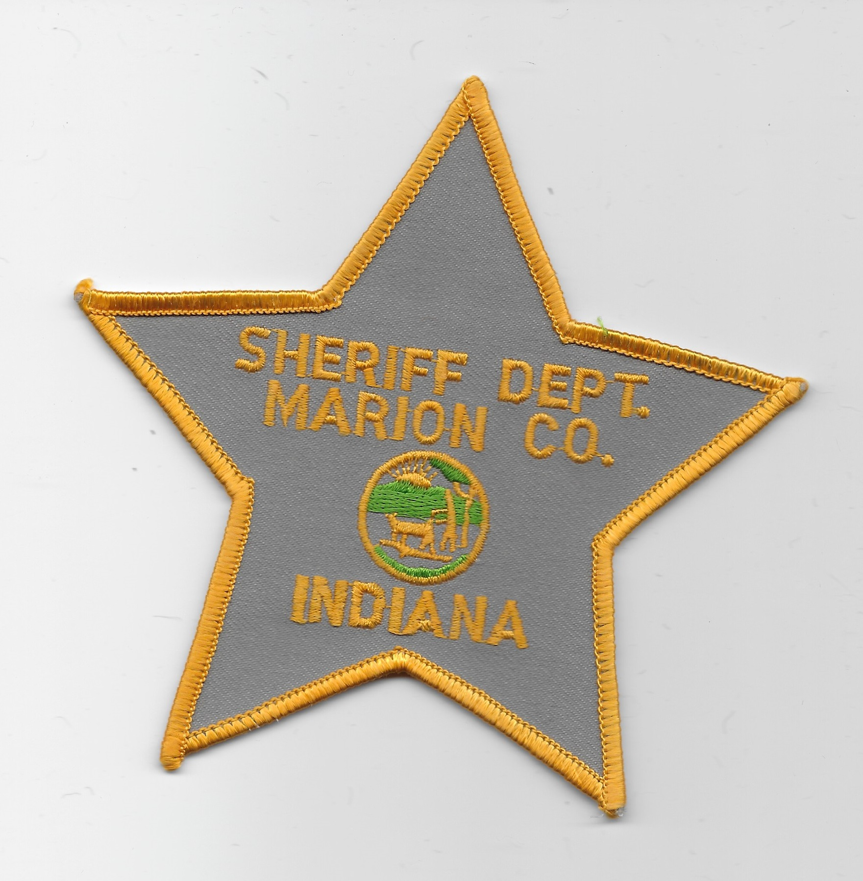 Marion County Sheriff Indiana Gold