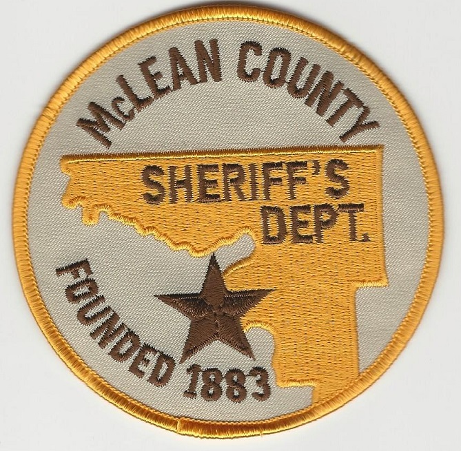 Mclean County Sheriff ND NEW