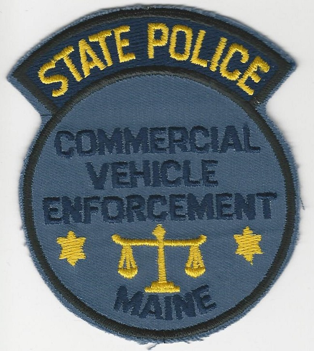 Maine State Police Commercial Veh Enfc