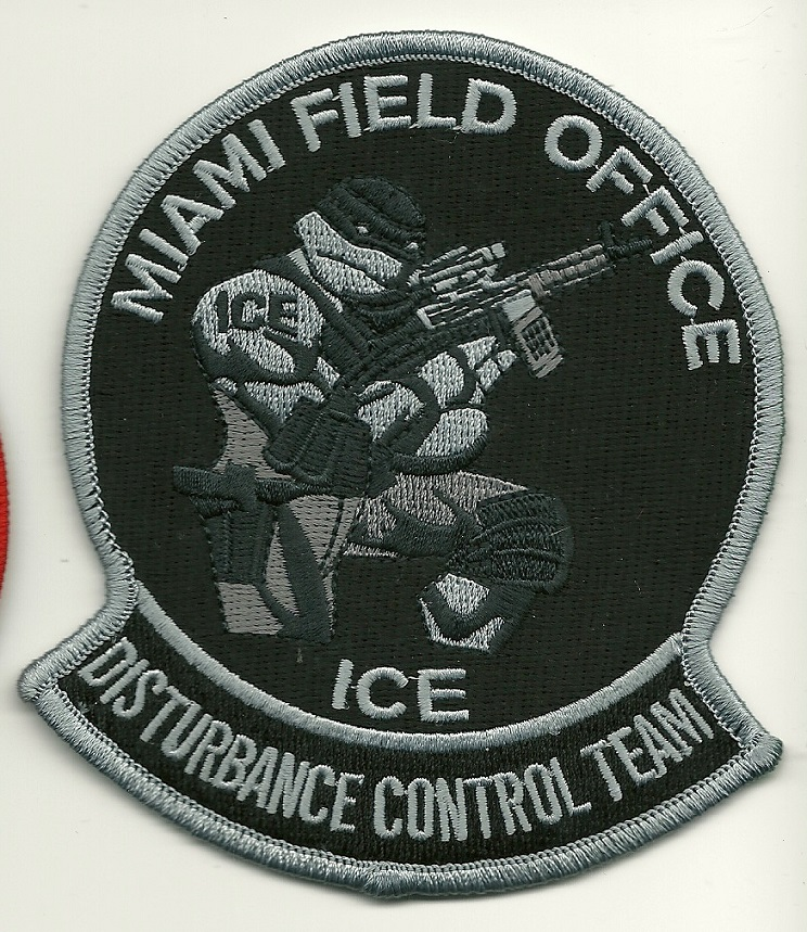 USCS ICE Disturbance Control Team Miami Florida SWAT SRT