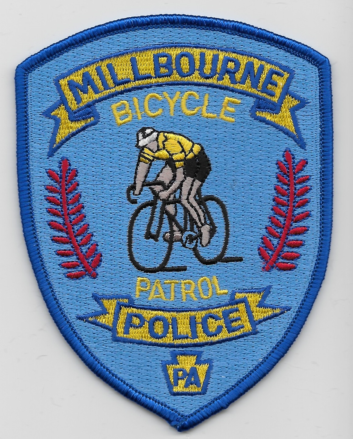 Millbourne Police Bike PA