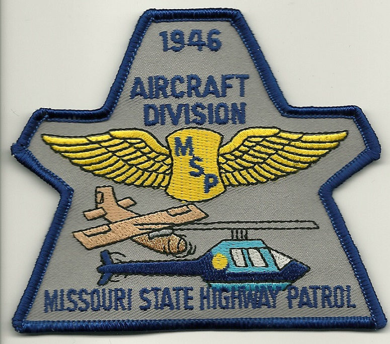 Missouri State POlice Aviation patch