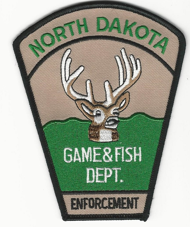 North Dakota Fish & Wildlife patch Subdued