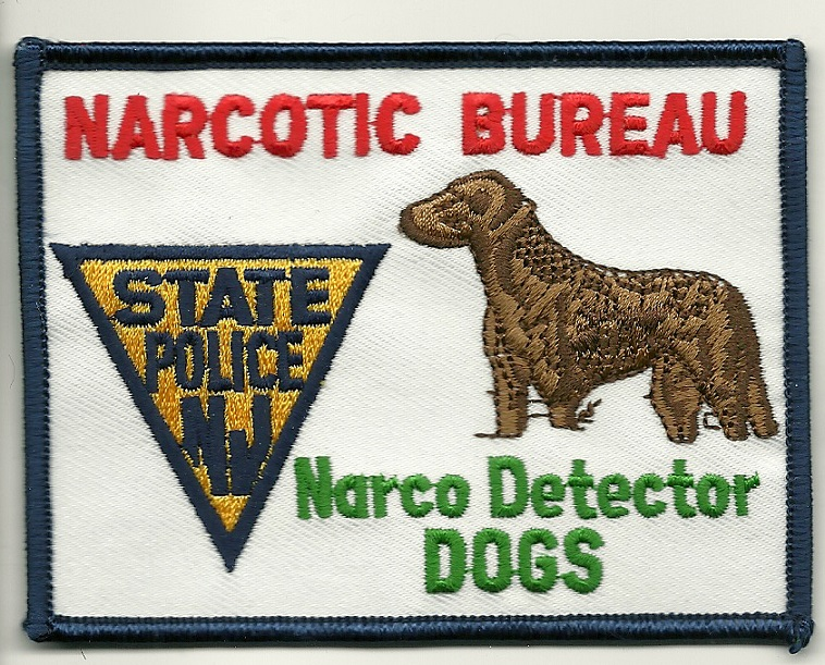 New Jersey State Police Narcotics k9 Detection patch k-9