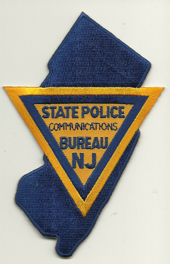 New Jersey State Police Communications State Shaped