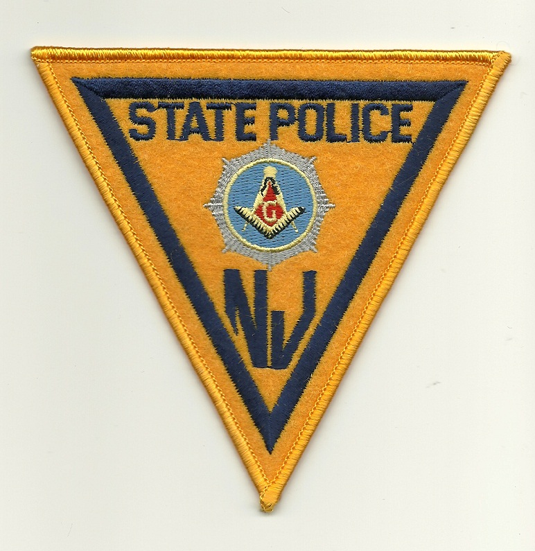 New Jersey State Police Masonic patch
