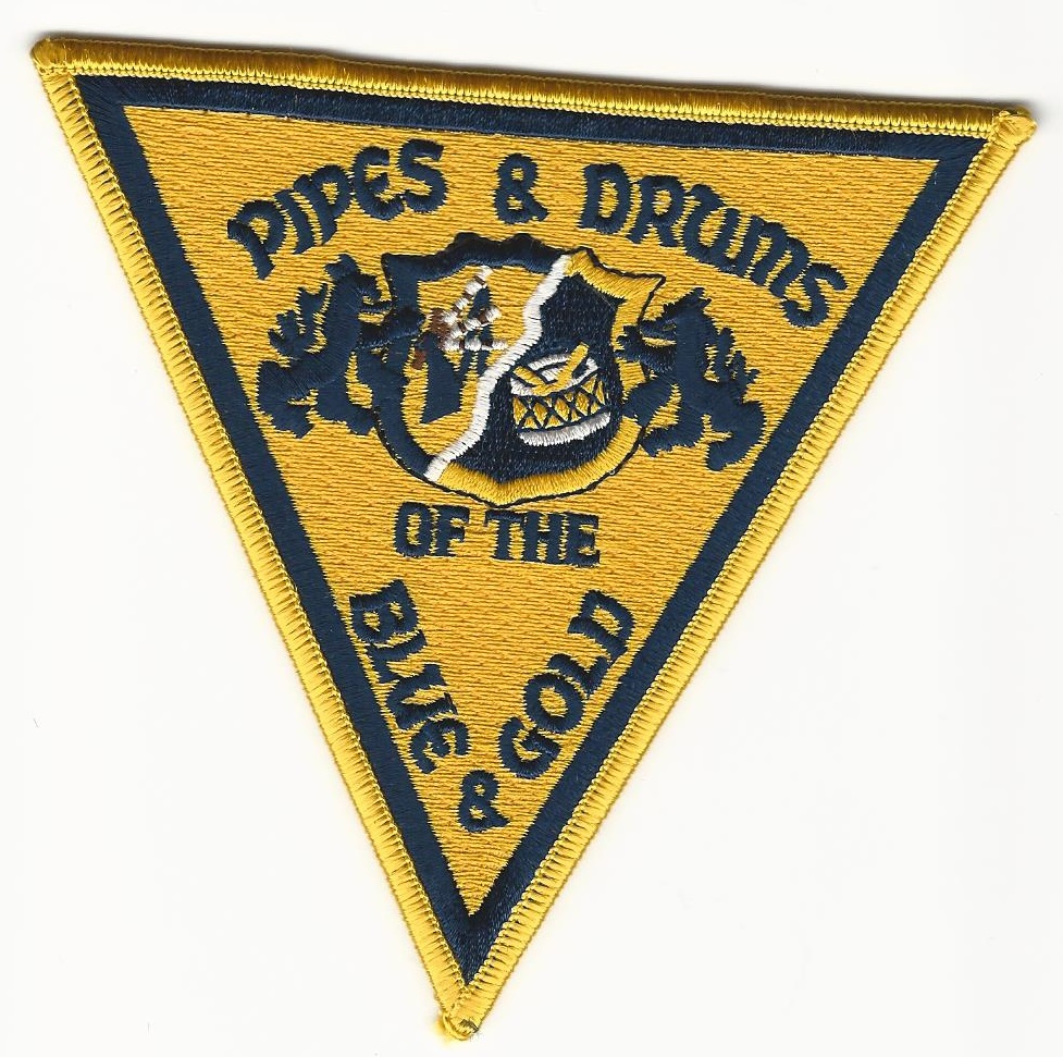 New Jersey State Police Pipes & Drums patch