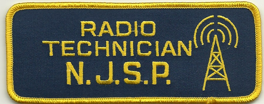 New Jersey State Police Radio Technician patch