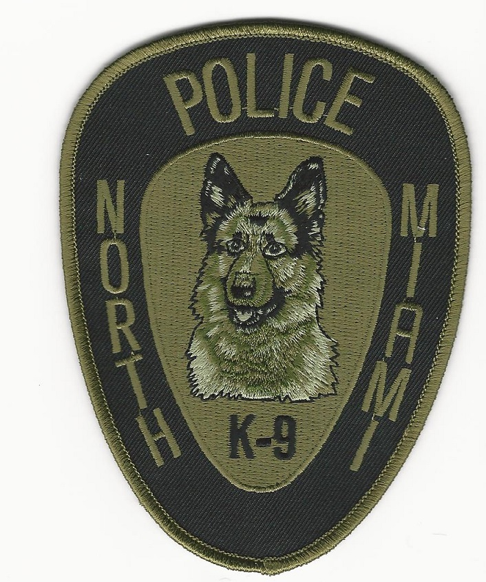 North Miami POlice k9 k-9 patch NEW