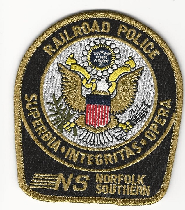Norfolk Southern Railroad railway Police Shoulder patch