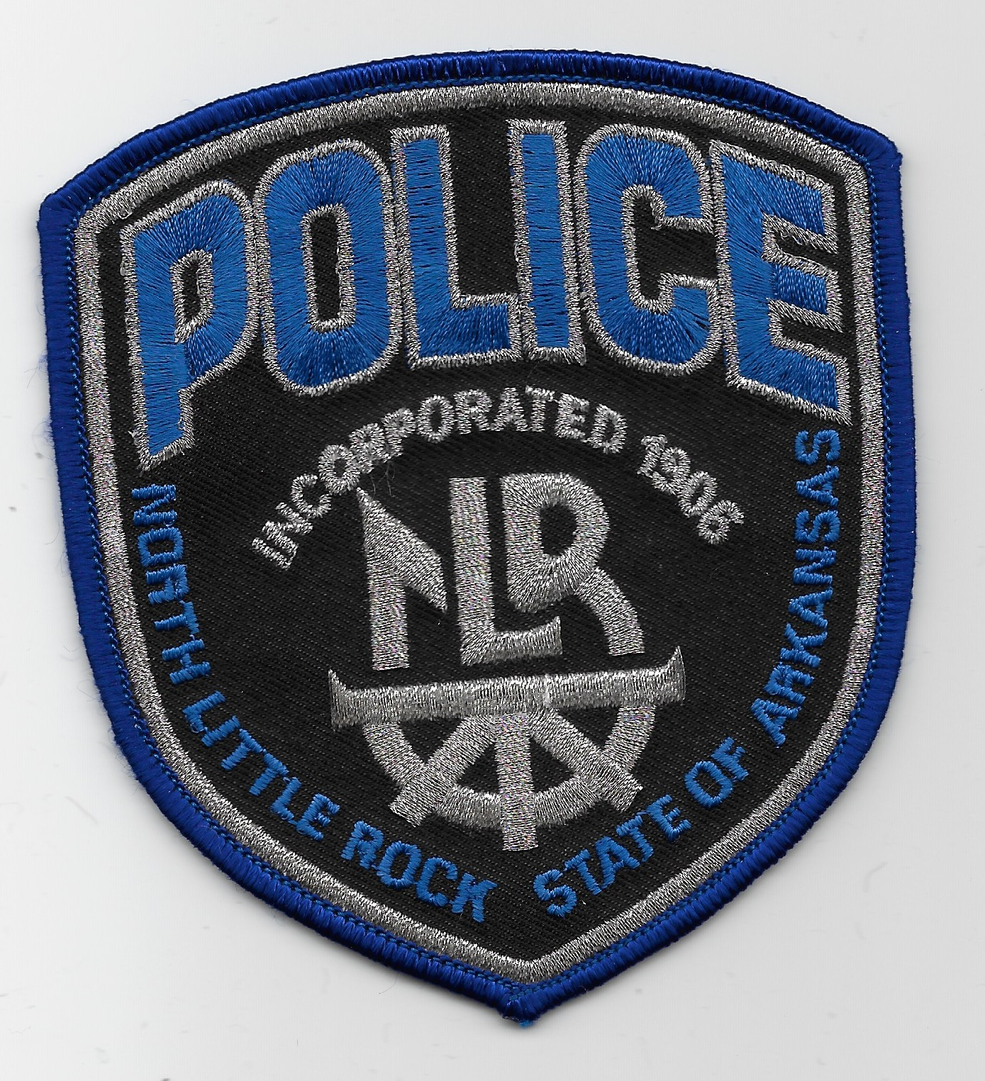 North Little Rock Police AK black