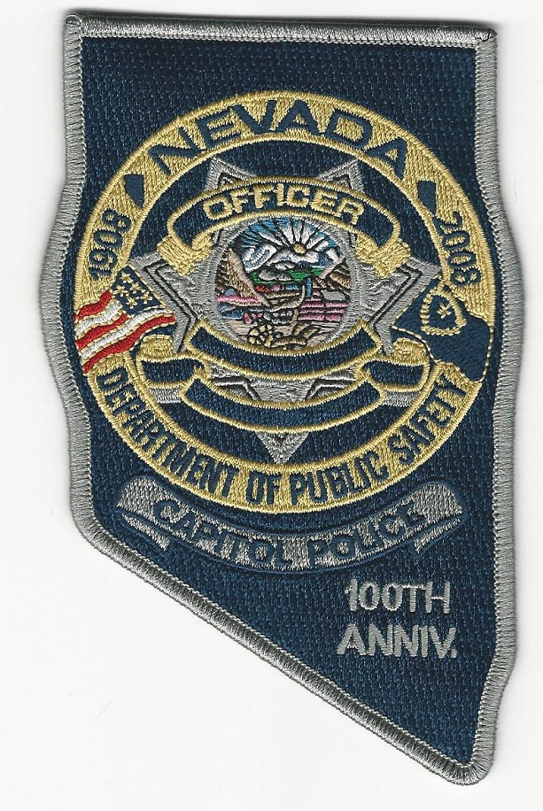 Nevada Capitol Police 100th Anniv